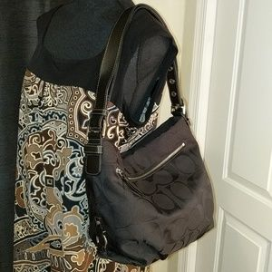 Coach hobo shoulder/crossbody bag